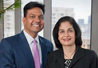 indian american couple gift 12 million to...