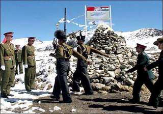 indian chinese armies hold border meeting in...
