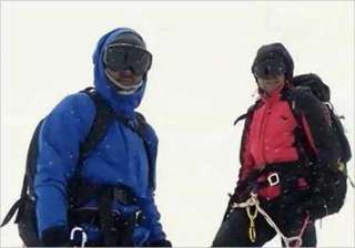 indian teens felicitated in nepal for climbing...