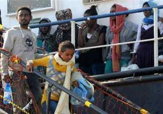 italy saves over 300 migrants at sea ten die -...