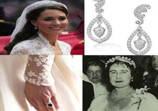kate wore cartier tiara lent by the queen - India...