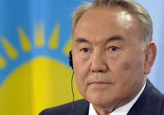 kazakh strongman scores landslide win - India TV