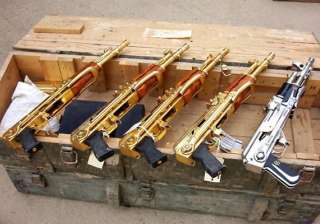 know saddam hussein s passion for golden guns in...
