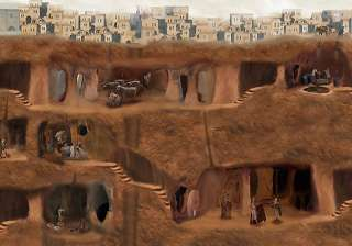 know about fascinating underground city of turkey...