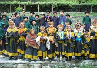 know about the unique white skinned kalash tribe...