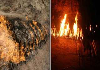 know about the mysterious fire mountain yanar dag...