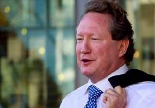 know billionaire andrew forrest who will donate...