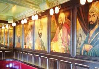 los angeles bar removes pictures of sikh gurus -...