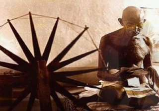 mahatma gandhi s prison charkha to be auctioned...