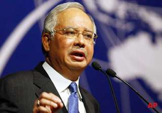 malaysian pm prays for missing airliner - India TV