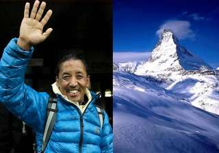 nepalese sherpa climbs everest a record 21st time...