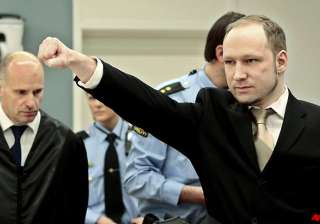 norway mass killer claims self defence - India TV