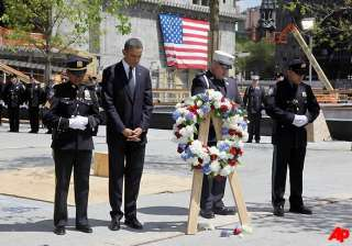 obama in nyc we never forget we mean what we say...