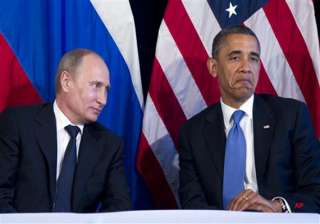 obama meets putin deadlock over syria - India TV