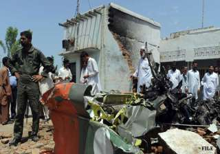 paf fighter aircraft crashes 4 killed - India TV