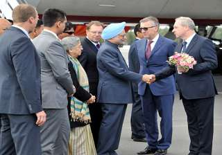 pm arrives in russia for bilateral talks - India...