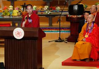 panchen lama makes rare public speech in hong...