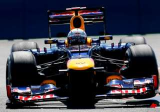 red bull driver vettel wins pole at european gp -...