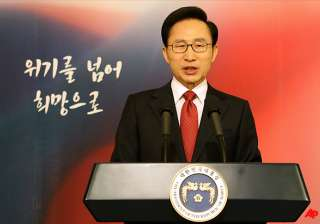 skorea president warns nkorea against...