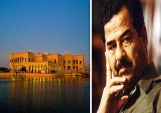 have a look at saddam hussein s luxurious palaces...