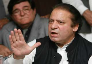 sharif calls for early polls to end political...