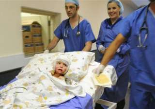 south african girl gets new layer of cloned skin...