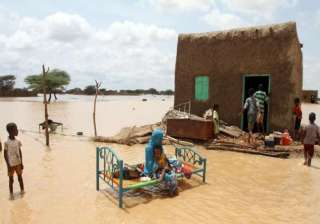 sudan flood 150 000 affected more rains expected...
