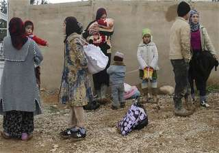 syrian unrest 792 900 refugees in lebanon - India...