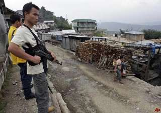 thai man arrested for supplying arms to naga...
