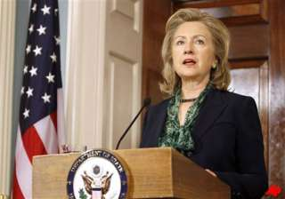 the war has not ended says clinton - India TV