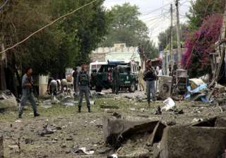 three killed in afghanistan bombing - India TV