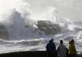 uk europe battered by storm 13 dead thousands...