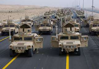 us plans significant military presence in kuwait...