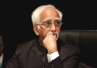 vice president ansari meets fidel castro as he...