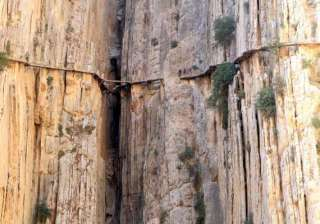 watch in pics the most dangerous pathway in the...