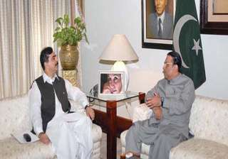zardari is our pace attack bowler gilani - India...