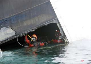 2 more cruise bodies found oil pumping to begin -...