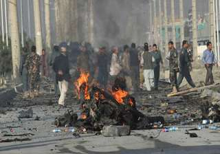 8 killed in afghan suicide bomb attack - India TV