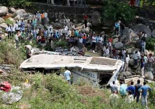 18 indian pilgrims killed 53 injured in nepal bus...
