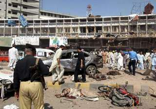 15 killed in suicide attack in pakistan on pro...