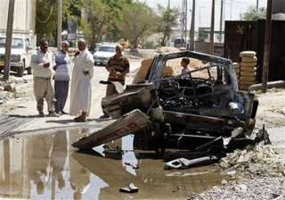 37 killed 64 injured in iraq attacks - India TV