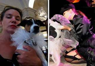 47 year old uk woman marries pet dog - India TV