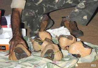 18 live bombs recovered in ranchi by nia - India...