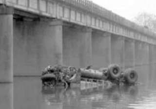 20 missing after truck plunges into up river -...