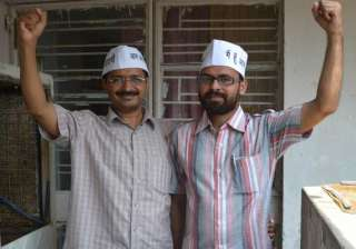 aap bjp clash delhi mla fails to turn up for...