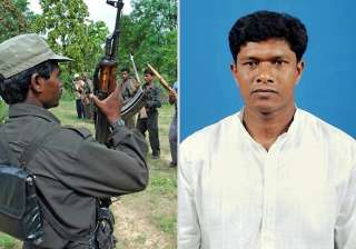 abducted odisha mla produced in maoist people s...