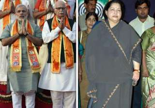 advani modi to meet jayalalithaa in chennai -...