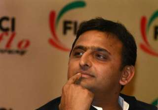 akhilesh accuses media of highlighting only up...