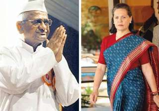 anna hazare writes to sonia on smear campaign -...