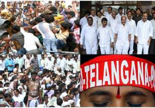 telangana effect 4 ministers at centre 8 congress...